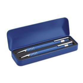 Set de bolígrafos en caja Alucolor