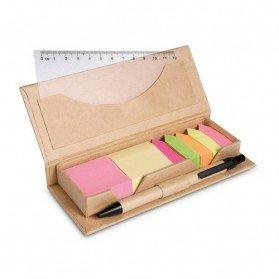 Set de oficina en caja cartón Stibox