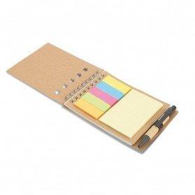 Libreta con bolígrafo y marcador Multibook