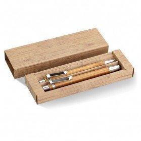 Set de bolígrafo y lápiz Bambooset