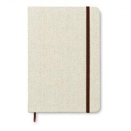 Cuaderno de canvas A6 de 96 páginas rayadas. Canvas