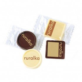 Chocolatina impresa en Flowpack
