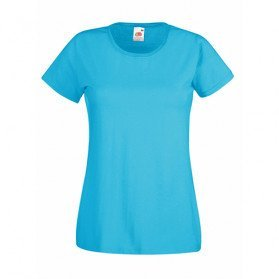 Camiseta Valueweight Fruit of the Loom mujer