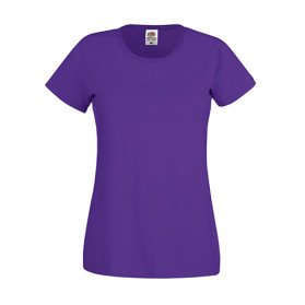 Camiseta Fruit of the Loom Original Mujer