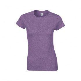 Camiseta Gildan Ring Spun Mujer