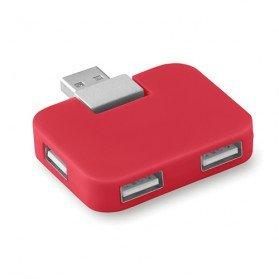Hub USB 4 puertos Square