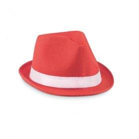 Sombrero de paja de color Woogie