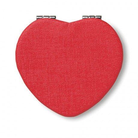 Espejito corazón en PU Glow Heart
