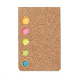 Notas adhesivas 5 colores Memosticky