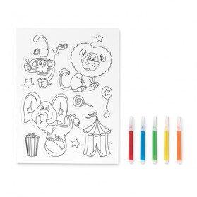 Stickers de imán para colorear Magcolour