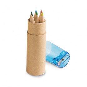 Caja con 6 lápices de color Wieprz