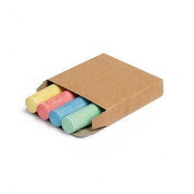 Caja con 4 barras de tiza San