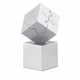 Puzzle 3D metálico y magnético Kubzle
