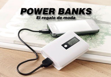 POWERBANKS: EL REGALO DE MODA